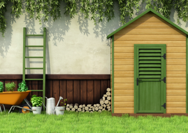 How To Position A Garden Shed